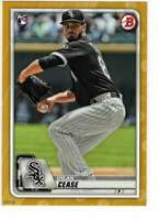 Dylan Cease 2020 Bowman 5x7 Gold #58 RC /10 White Sox