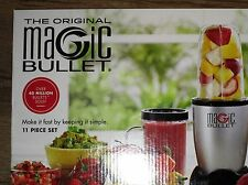 **Brand New** The Original Magic Bullet 11 Piece Set Blender & Mixer