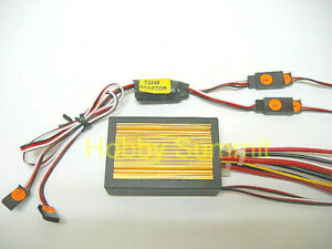 R/C Tank  TWIN-MOTOR ESC  similar  DMD  Functions  re 1 /16 1/15 1/25 Tamiya