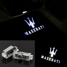 2X Replaceable Car Door Logo Step Puddle Ghost Light Compatible with Maserati