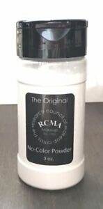 RCMA No-Color Powder 3oz - Face Makeup Loose Powder -Shaker Top Bottle !