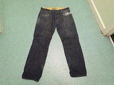 "Henley's Relaxed Jeans Waist 34"" Leg 33"" Faded Dark Blue Mens Jeans"