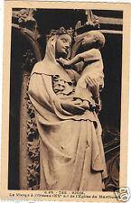 63 - cpa - RIOM - Eglise du Marthuret - La Vierge à l'Oiseau ( i 3739)