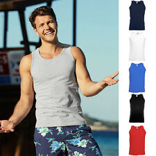 Fruit of the loom Trägershirt Athletic Vest Herren Tank Top T-Shirt Unterhemd