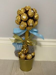 Ferrero Rocher Chocolate Sweet Tree Fathers Day Themed With Me To You Teddy!