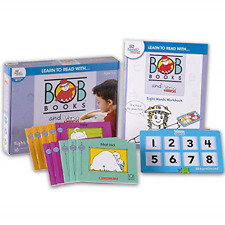 Learn to Read with… Bob Books and VersaTiles - Sight Words Set with 10 Bob Case,