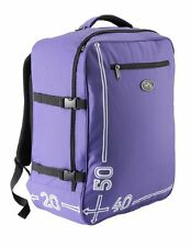 Cabin Max Hand Luggage Backpack Travel Bag Lightweight Carry On Back Pack Purple
