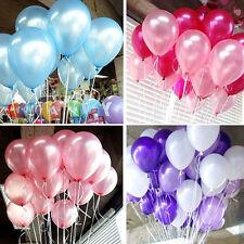 "20pcs 20"" Latex Helium Balloons For Wedding Birthday Party Decor 12 Colors"