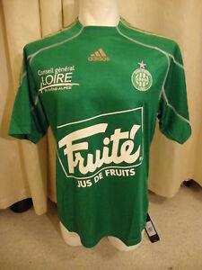 St Etienne Player Issue Formotion Shirt Adidas BNWT XL