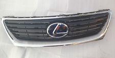 *NEW LEXUS GS450H BLACK GRILL OEM GS300 GS430 GS350 + HYBRID EMBLEM CHROME TRIM