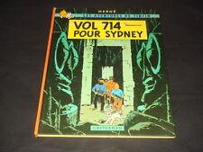 HERGE TINTIN : VOL 714 POUR SYDNEY 1ERE EDITION 2EME TIRAGE 1968