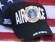US AIR FORCE USAF HAT SCRIPT IRAQ VIETNAM WOWAFH L@@K!