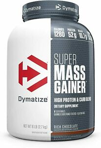 Dymatize - Super Mass Gainer Protein Powder All Flavors 6lbs / 12lbs US