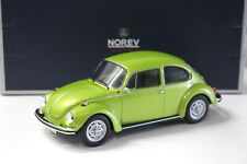 1:18 Norev VW Käfer 1303 green 1972 NEW bei PREMIUM-MODELCARS
