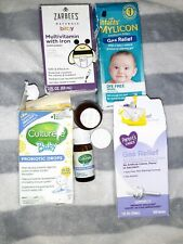 Mylicon Culterelle Zarbees baby medicine drops lot