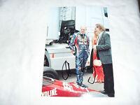 6 x 4 HAND SIGNED PHOTO - F1 RED BULL - ADRIAN NEWEY - GOODWOOD
