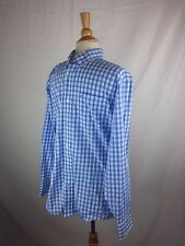 Southern Tide Skipjack Button-Front L/S Shirt Small Blue White Stripe