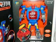Children's Robot LCD Watch,Blue,Silver,Red,Transformation Design,Stands 14cm