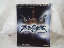 Soul Calibur II 2 Official Fighter's Strategy Guide Brady Games Signature Series
