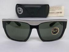 Vintage B&L Ray Ban Drifter Black White Sunglasses USA