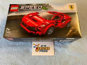 Lego Speed Champions 76895 Ferrari F8 Tributo New/Sealed/Hard to Find