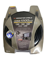 New listing Monster Cable Advanced Hdmi 75ft Ultra High Speed Video Audio