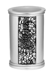 Popular Bath Sinatra Silver Collection - Bathroom Tumbler
