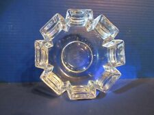 Rare Orrefers Art Deco Signed Crystal Bowl American Senior Golf Association 1935