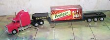 Peniger,Peterbilt Truck with Trailer ,Diecast/Plastic,Loose,Scale 1:87
