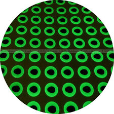 9mm 3D Glow In Dark / 500pcs Soft Molded 3D Fish Eyes, Fly Jig Lure, Fishing