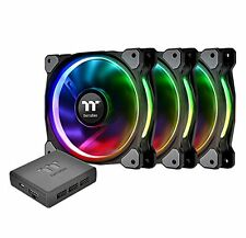 Thermaltake Riing Plus 12 LED RGB Radiator Fan TT Premium Edition [3 Fan Pack]