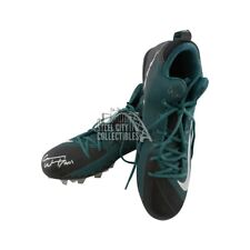 Carson Wentz Autographed Nike Football Cleats - Fanatics (Green)
