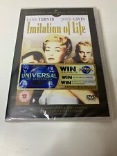 IMITATION OF LIFE DVD NEW & SEALED Lana Turner John Gavin Fannie Hurst