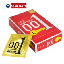 OKAMOTO Zero One 001 Size L 0.01 Ultra Thin Condom 3 pcs from Japan - US Seller