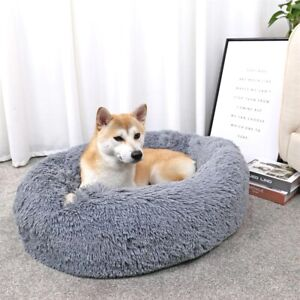 Pets dog and cat 50 cm round sofa super soft fluffy and comfortable for your pet