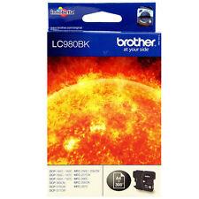 Brother LC980BK schwarz black Tintenpatrone Hammer TOP NEU !!!