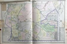 1916 Montgomery County, North Pa, Abington, Lawn View Cemetery, Copy Atlas Map