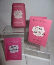 "CRABTREE & EVELYN  ""Pear&Pink Magnolia"" Soap,Lotion,Cologne COMBO (Full/Travel)"