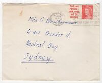 1966 Dec 26th. Cover. Cairns, Queensland to Neutral Bay, Sydney.