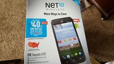 ZTE -Z932L 4G LTE Smart Phone  New in Box With Activation Kit