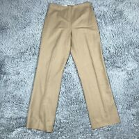 Ralph Lauren Black Label Dress Pants Career Womens Tan Stretch Wool Sz 4