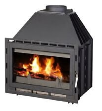 Fireplace Insert Inset Wood Burning Stove Log Burner Built In 14kw SENATOR