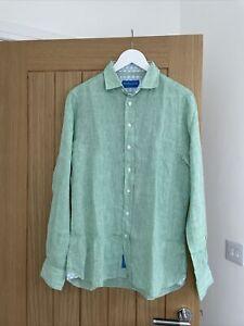 Mens Beaufort & Blake London All Linen Shirt