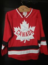 2012 Youth Olympics Canada Hockey Team Hudson's Bay Co. Jersey Youth 10/12 Boys.