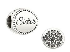 Chamilia SISTER 'A Love that is Always Connected' Sterling Disc Bead 2010-3228