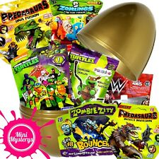 SURPRISE EGG TOYS BUNDLE Teenage Mutant Ninja Turtles, Dinosaurs, WWE Blind Bags