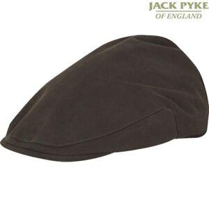 JACK PYKE ASHCOMBE FLAT CAP MENS WATERPROOF HAT COUNTRY WEAR HUNTING SHOOTING
