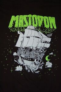 Mastodon 2XL Ghost Ship black shirt