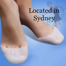 1 Pair Silicone Gel Ballet Pointe Dance Shoe Pads Toe Cap Cover Protectors