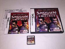 Real Time Conflict: Shogun Empires (Nintendo DS) Original Complete Nr Mint!